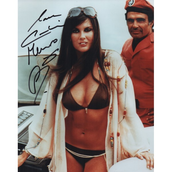 Caroline Munro James Bond genuine signed authentic signature photo