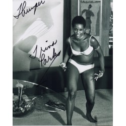 James Bond Trina Parks signed original genuine autograph authentic photo