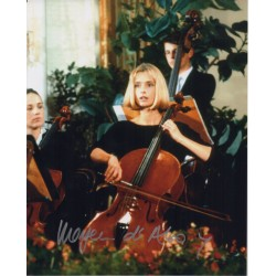 James Bond Maryam D'abo 4 signed original genuine autograph authentic photo