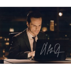 Andrew Scott James Bond genuine signed authentic autograph photo