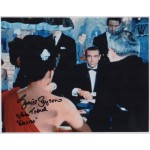 Eunice Gayson James Bond genuine signed autograph photo