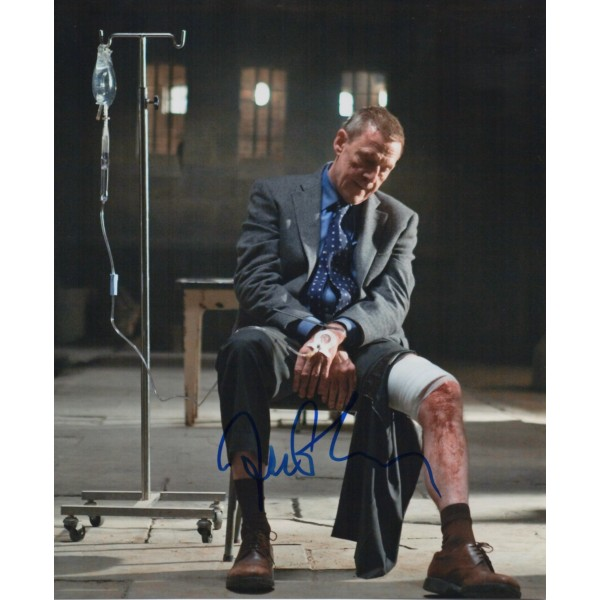 Jesper Christensen James Bond genuine authentic signed autograph photo 3