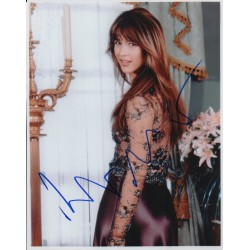 Sophie Marceau James Bond genuine signed autograph photo 2