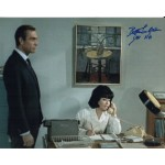 James Bond Bette Le Beau Dr No colour authentic signed photo UACC AFTAL