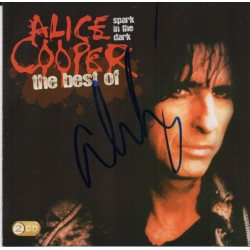 Alice Cooper authentic signed genuine signature CD COA AFTAL UACC