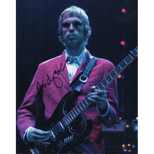 Andy Bell Oasis genuine authentic signed autograph photo 4