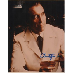 Christopher Lee James Bond genuine authentic autograph signed photo 14