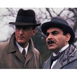 David Suchet Poirot genuine authentic signature autograph photo AFTAL