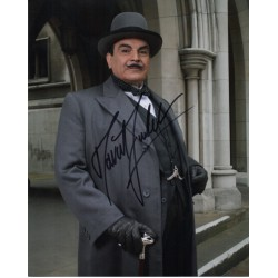 David Suchet Poirot signed authentic signature photo 6 COA UACC AFTAL