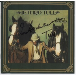 Ian Anderson Jethro Tull authentic signed genuine signature CD COA