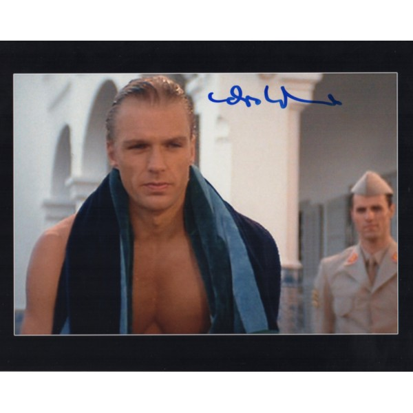 James Bond Andreas Wisniewski genuine authentic autograph signed photo 2