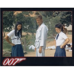 James Bond Joie Vejjajiva authentic signed autograph photo 4