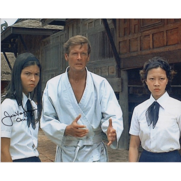 James Bond Joie Vejjajiva authentic signed autograph photo