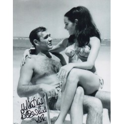 James Bond Martine Beswick 2 signed original genuine autograph authentic photo
