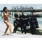 James Bond Martine Beswick 3 signed original genuine autograph authentic photo