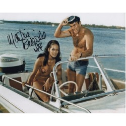 James Bond Martine Beswick signed original genuine autograph authentic photo