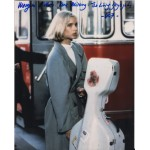 James Bond Maryam D'abo 2 signed original genuine autograph authentic photo