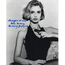 James Bond Maryam D'abo authentic signed autograph photo 4