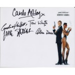 James Bond Multi genuine signed authentic signature photo 2
