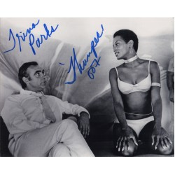 James Bond Trina Parks genuine signed authentic signature photo