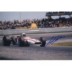John Surtees Honda F1 genuine authentic signed photo COA RACC