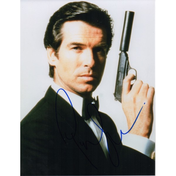 Pierce Brosnan James Bond genuine signed authentic autograph photo 3