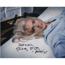 Shirley Eaton James Bond signed authentic autograph photo