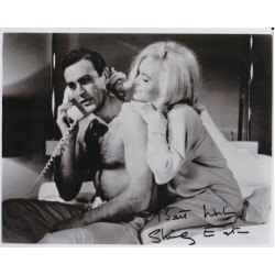 Shirley Eaton James Bond signed authentic autograph photo C