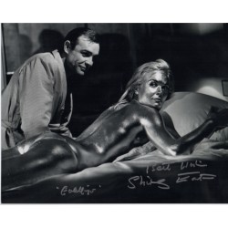 Shirley Eaton James Bond signed authentic autograph photo D UACC