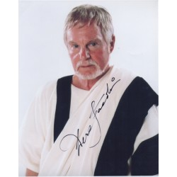 Derek Jacobi I Claudius original signed autograph photo COA AFTAL