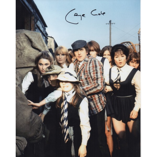 George Cole St Trinians genuine signed authentic signature photo COA