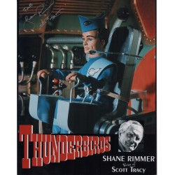 Thunderbirds Shane Rimmer genuine authentic autograph signed image.