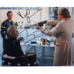 Doctor Who Terry Molloy Leslie Grantham genuine authentic signed photo