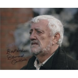 Doctor Who Bernard Cribbins signed autograph photo.