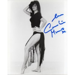Caroline Munro genuine authentic autograph signed photo AFTAL