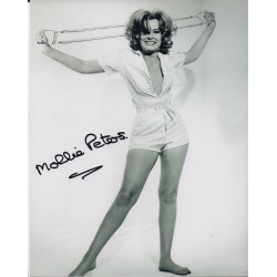 James Bond Mollie Peters authentic signed original autograph authentic photo