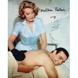Mollie Peters James Bond genuine authentic signed autograph photo