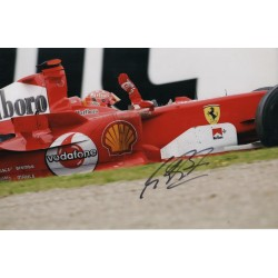 Michael Schumacher authentic signed autograph Ferrari photo 7