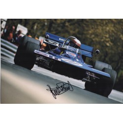 Jackie Stewart F1 Tyrrell genuine signed authentic autograph photo AFTAL 4