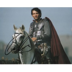 Clive Owen King Arthur signed original genuine autograph authentic photo