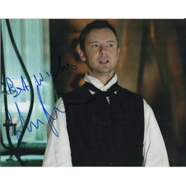 Doctor Who John Simm authentic genuine signed autograph photo UACC