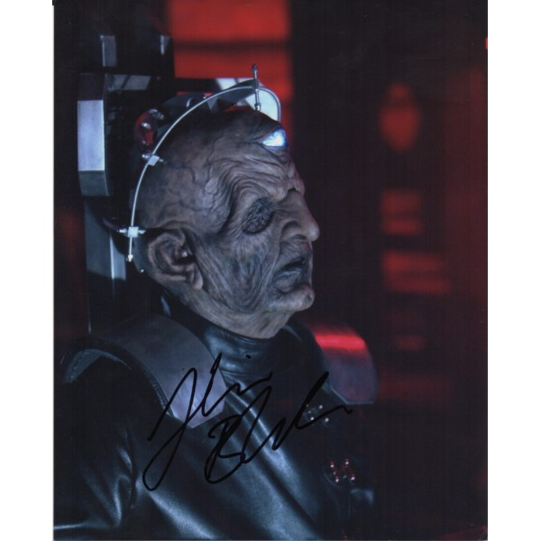 Doctor Who Julian Bleach authentic genuine signed autograph photo