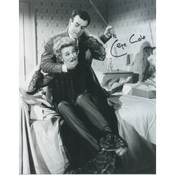 George Cole authentic signed autograph photo UACC 3