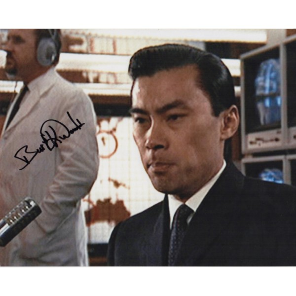 James Bond Burt Kwouk genuine signed authentic autographs photo