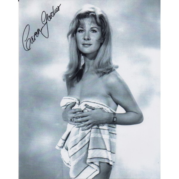 James Bond Caron Gardner genuine signed authentic signature photo 7