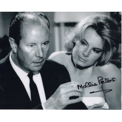 James Bond Mollie Peters genuine signed authentic signature photo