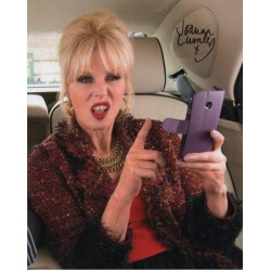 Joanna Lumley Ab Fab authentic signed genuine signature photo 1 COA UACC