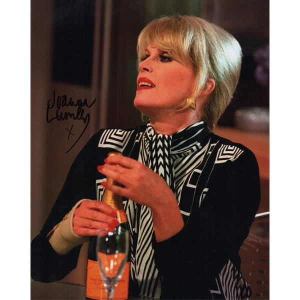 Joanna Lumley Absolutely Fabulous genuine authentic autograph signed photo.