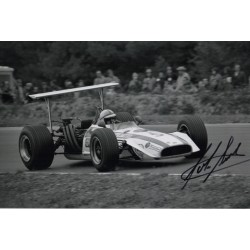 John Surtees Honda  F1 genuine signed authentic autograph photo AFTAL