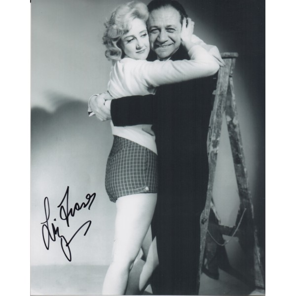Liz Fraser Sid James signed autograph photo 4 COA UACC AFTAL